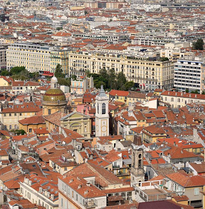 toits de Nice