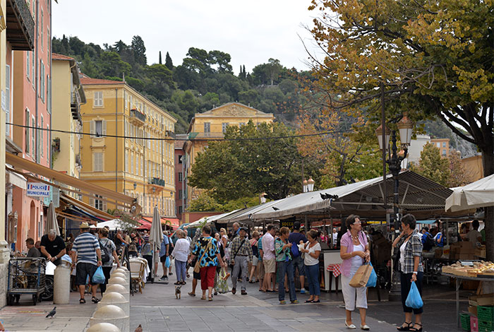 Marché de Nice cours Saleya