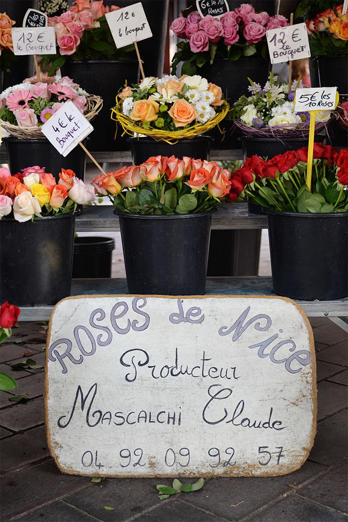 fleurs marché nice