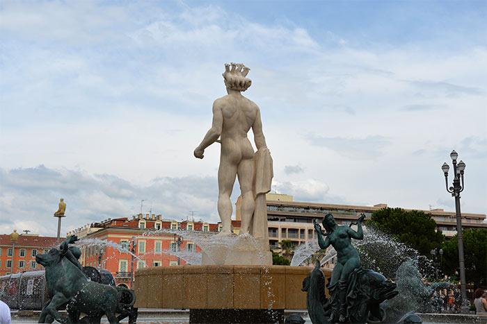 statue Nettuno Nice
