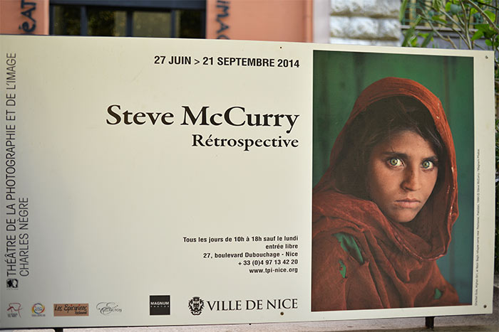 expo photographie Steve McCurry
