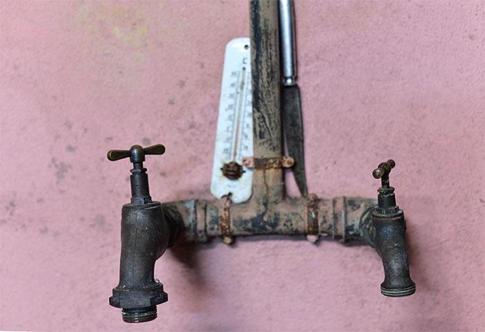 robinet thermomètre