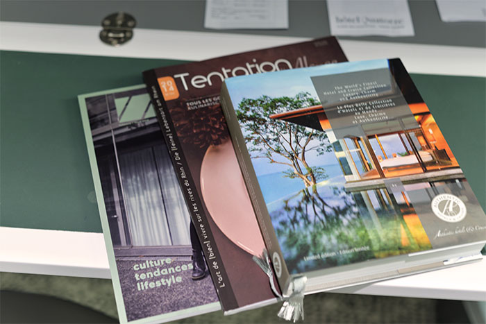 magazines hotel quatorze