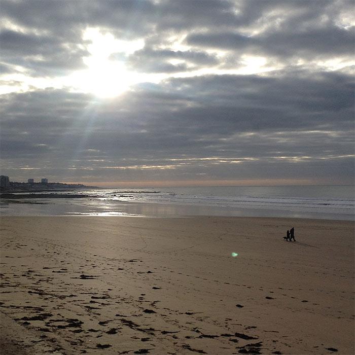 plage des sables d'olonne