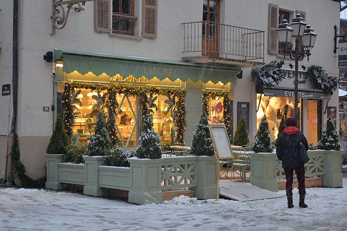 boutique Ladurée Megève