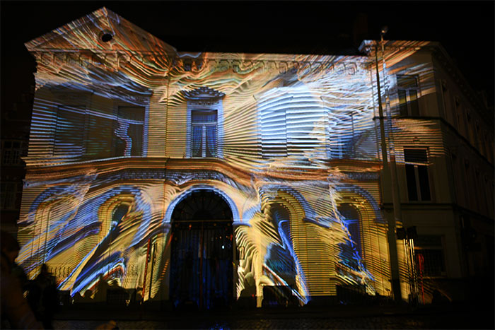 dancing house lichtfestival