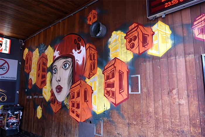 Gand streetart Mark Goss