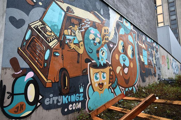 Bué the Warrior street art