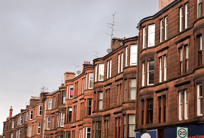 Glasgow maisons