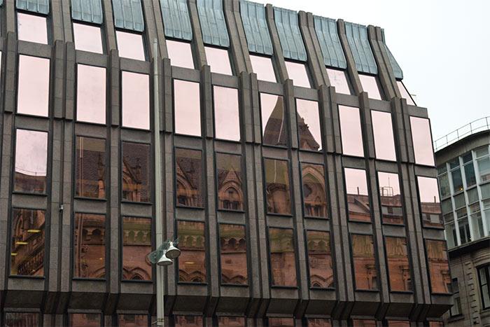 reflet immeuble