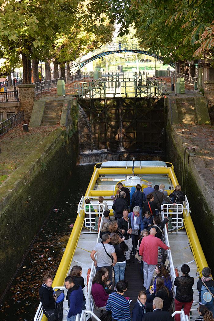 ecluse canal saint martin paris