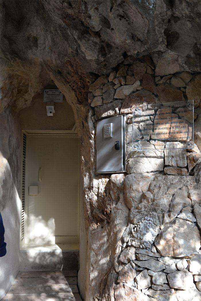 entree grotte chauvet ardeche