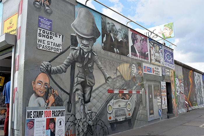 East Side Gallery Berlin