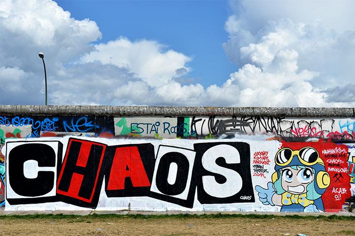 Mur de Berlin côté Spree