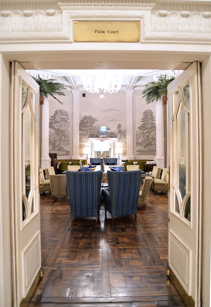 The Palm Court Balmoral Edinburgh