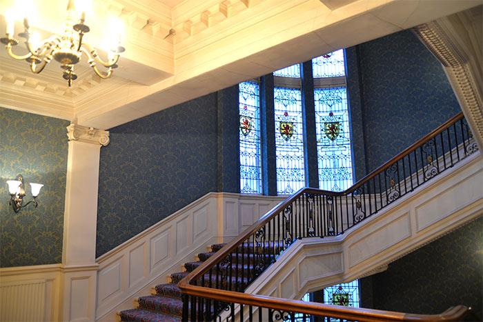 staircase the Balmoral Edimbourg