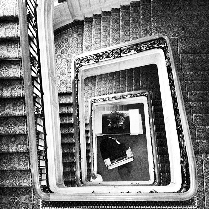 staircase the Balmoral Edinburgh