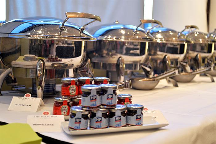 breakfast buffet at the balmoral