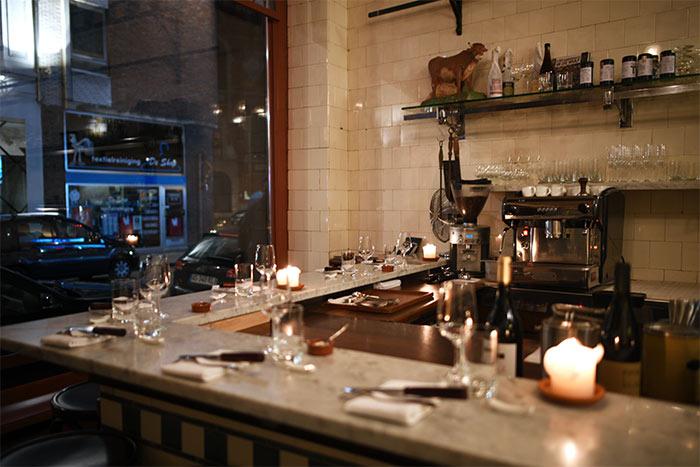 de vitrine gent restaurant