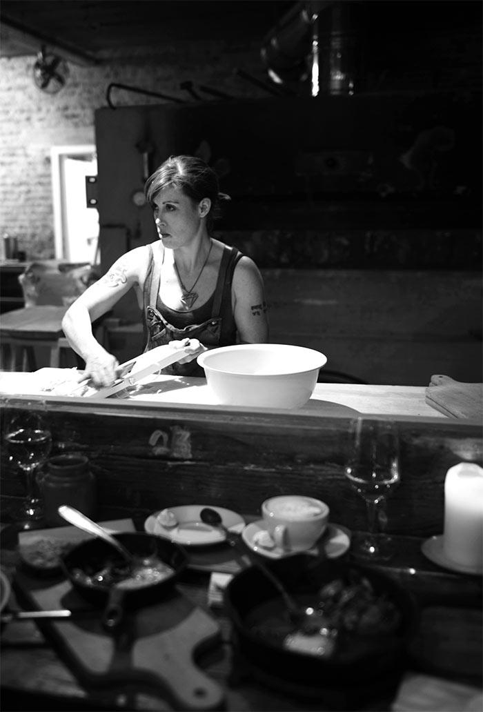 Sarah Lemke baker de Superette gent