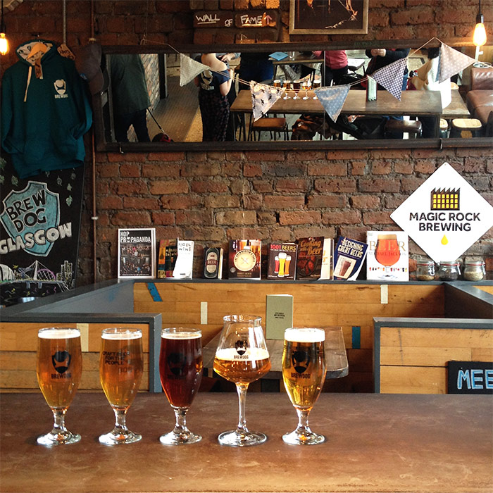 beer brewdog glasgow