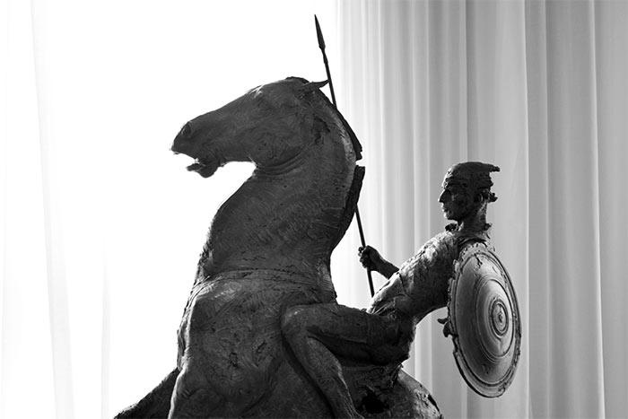 cavalier sculpture
