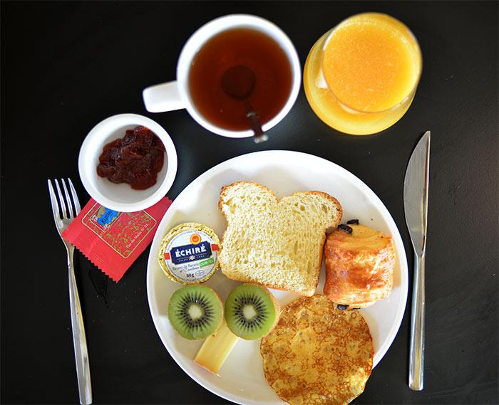petit déjeuner okko hotel grenoble