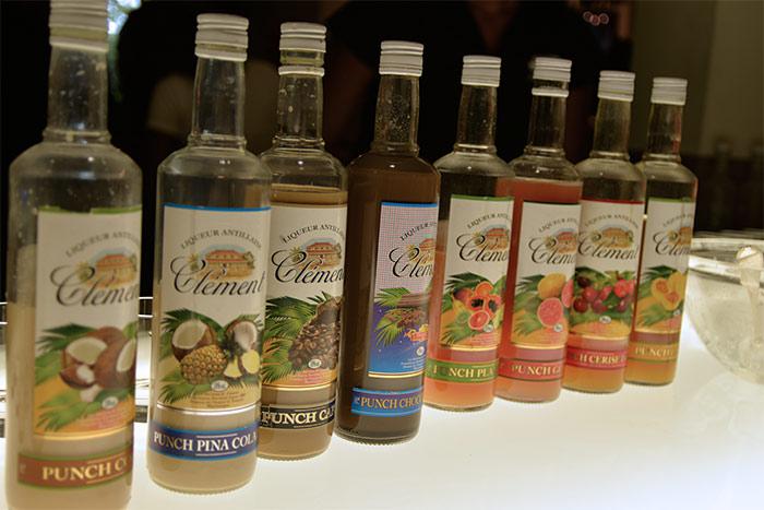 bouteilles rhum clement