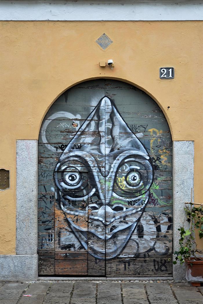 street art via santa croce milano