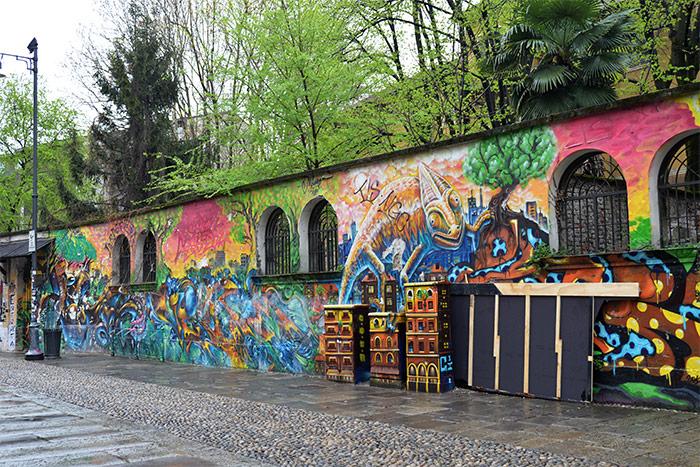 street art milan navigli