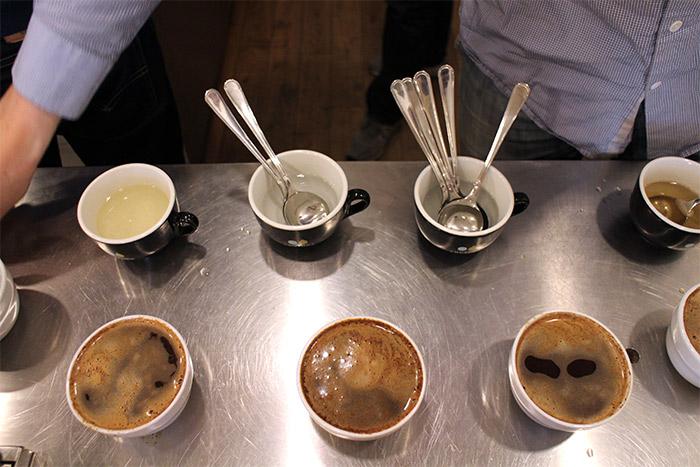 cupping degustation