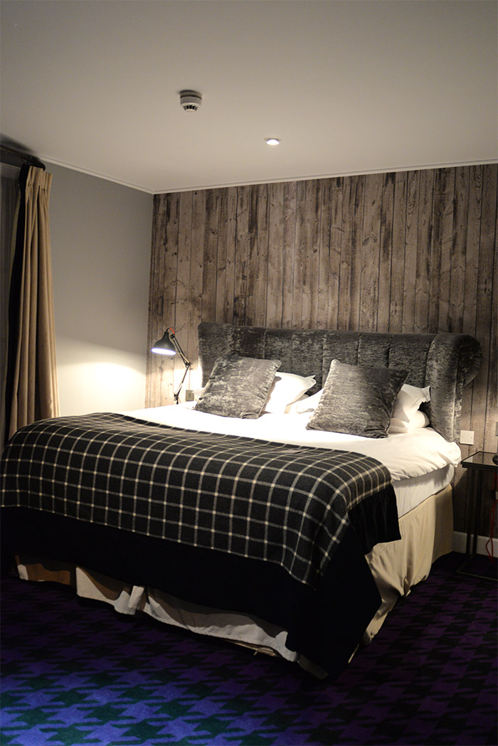 La Malmaison Glasgow bedroom