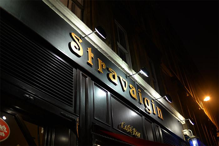 Stravaigin restaurant