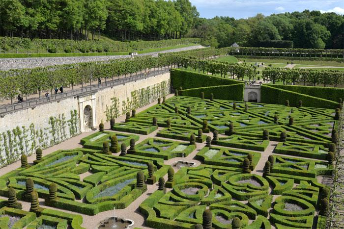 Jardins d'amour Villandry