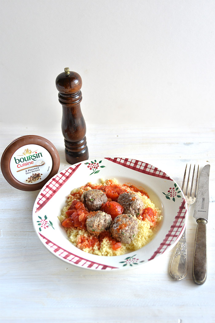boulettes de viande boursin cuisine