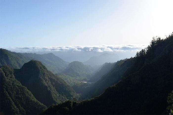 montagnes madère