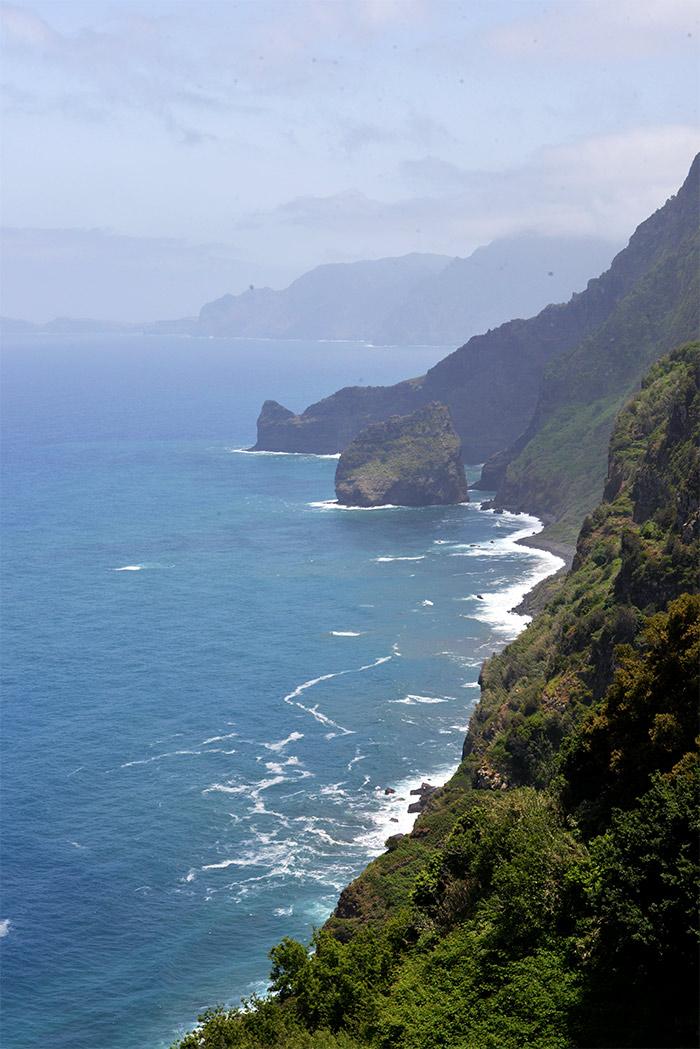 santana falaises madere