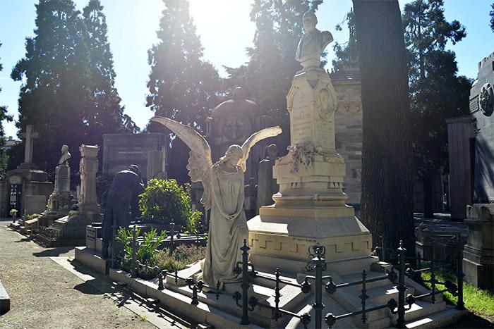Le cimetière de Milan