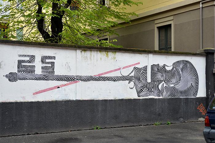never2501 street art italia