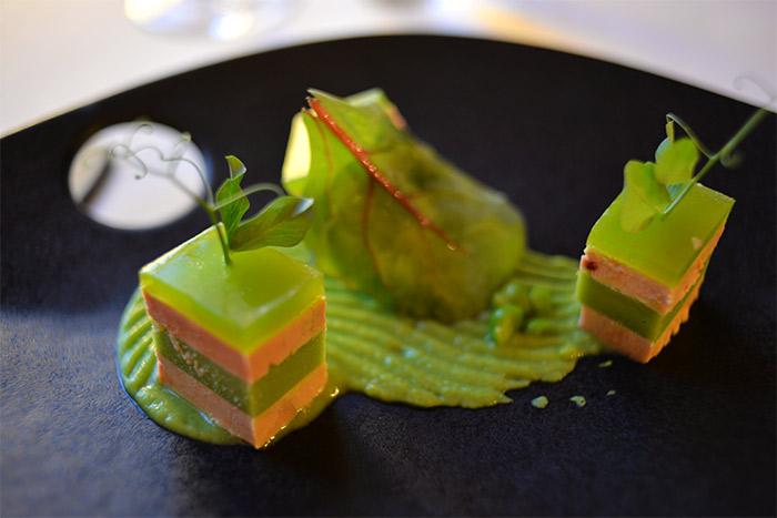 presse de foie gras petits pois