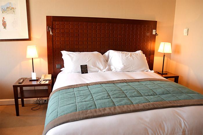 Sofitel Marseille bedroom