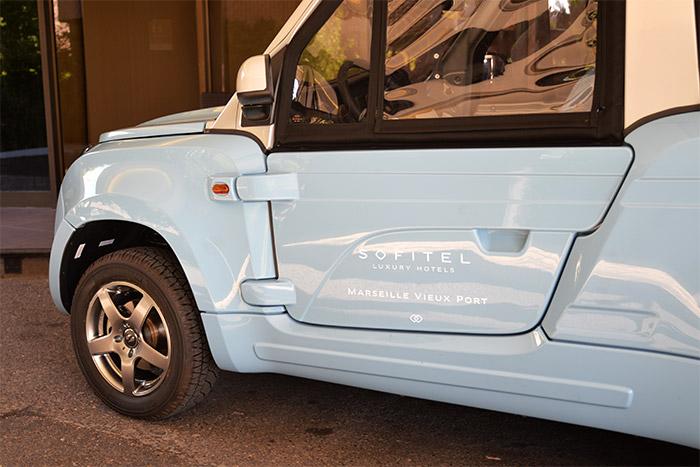 voiture électrique sofitel marseille