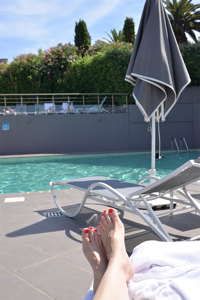 Marseille Sofitel piscine