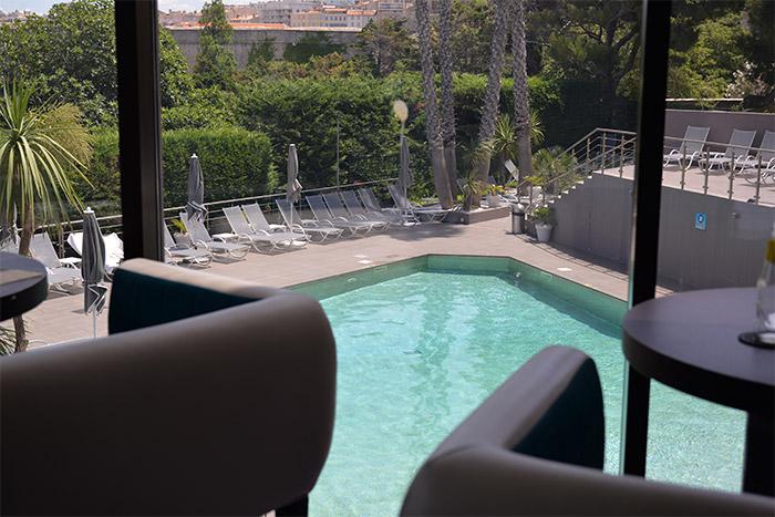 Marseille Sofitel swimming pool