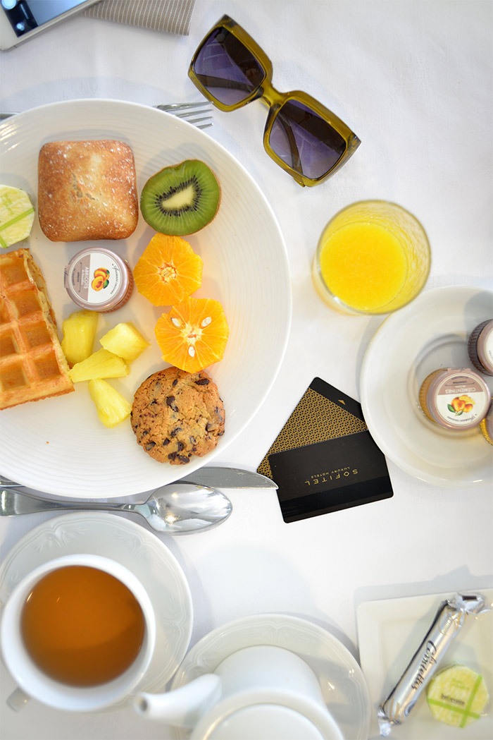 Sofitel Marseille breakfast