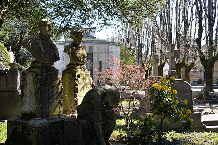 Milan le cimetière monumental