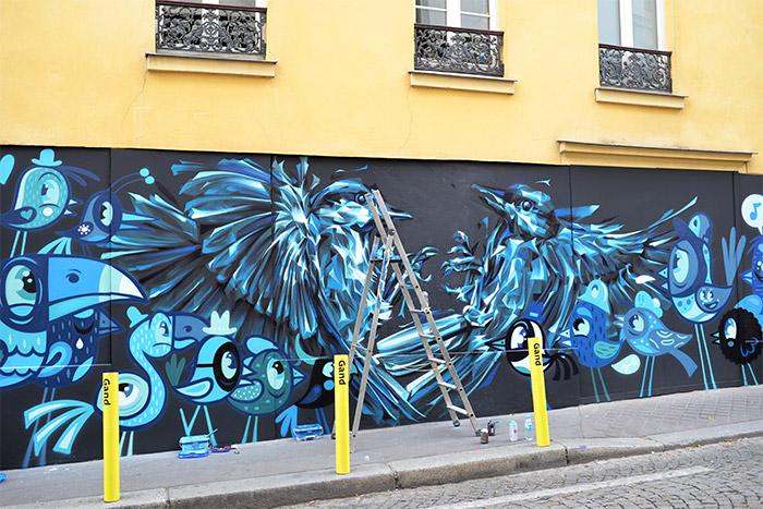street art by bue and steve locatelli