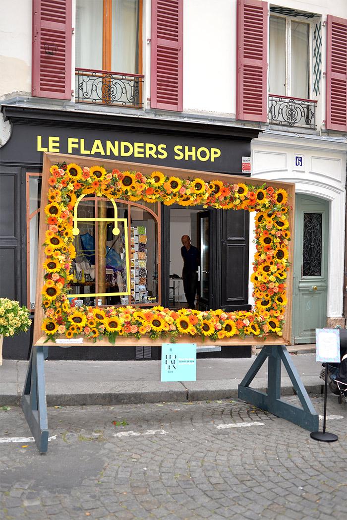fleurs paris rue de la flandre