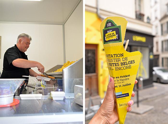 frites rue de la flandre paris