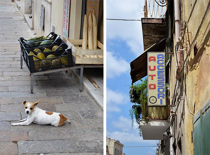 streets of sassari sardegna